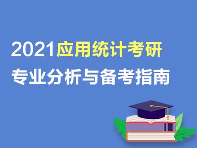 应用统计2021年考研专业分析与备考指南(共2套打包)